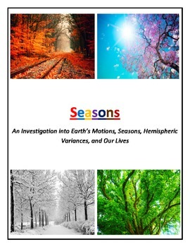 Seasons and Our Lives COMBO (Non-modified and Modified and COLOR Coded)