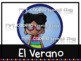 Seasons and Weather Bulletin board and posters in Spanish - Clima y Estaciones