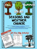 Seasons and Weather Change (LIFT THE FLAP ACTIVITY) Science for Young Students