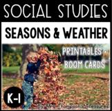 Seasons and Weather - Kindergarten and 1st Social Studies