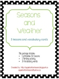 Seasons and Weather Mini-Unit
