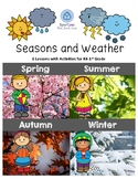 Seasons and Weather Lessons for K4-1st Grade