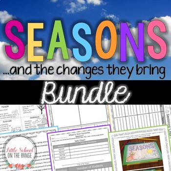 Seasons and the Changes They Bring BUNDLE