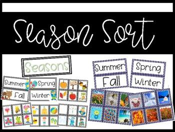 Seasons {fall, winter, spring, summer}