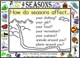 Seasons for Social Studies!