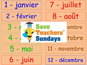 Seasons in French Lesson plan, PowerPoint (with audio) Flashcards & Worksheets