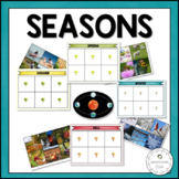 Seasons in Nature | Nature Curriculum in Cards | Montessori