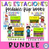 Seasons in Spanish  Flip Book - Las estaciones