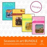 Seasons in art - BUNDLE