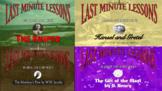Seasons of Authors Series Bundle Last Minute Lessons