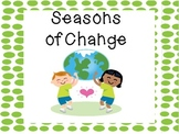 Seasons of Change:  Shared Research and Writing