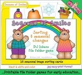 Seasons of Smiles File Folder Game Download