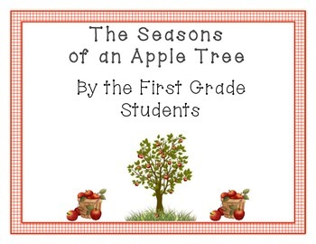 Seasons of an Apple Tree Sign