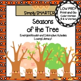 Seasons of the Tree  Emergent Reader AND Interactive Activities