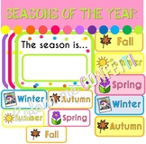 Seasons of the Year Display - Colour me Confetti