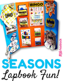 Seasons of the Year Lapbook File Folder Fun