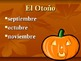 Seasons of the Year Power Point - Spanish