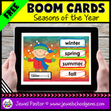 Seasons of the Year Science Boom Cards FREE (Digital and D