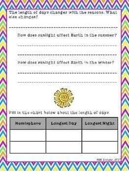 Seasons of the Year WebQuest - Journey Through Winter, Spring, Summer, & Fall!