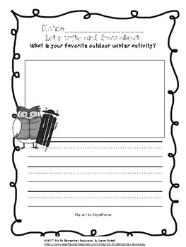 Seasons of the Year Writing Prompt Bundle!