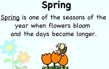 Seasons slides