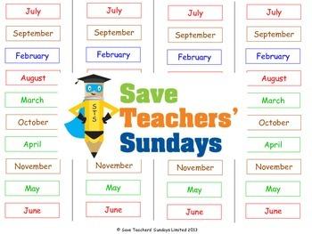 Seasons Unit (8 lessons)