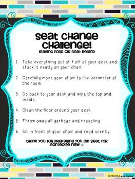 Seat Change Challenge