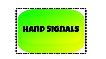 Seat Hand Signals - Wall Hanging / Decor