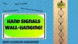 Seat Hand Signals - Wall Hanging / Decor