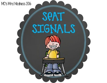Seat Signals Chart (EDITABLE VERSION INCLUDED)