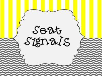 Seat Signals (chevron)