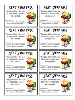 Seat Swap Pass