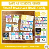 Seated Movement Break Cards | Safe at School Series