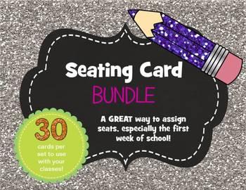 Seating Card BUNDLE