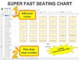 Seating Chart - FASTER than Drag & Drop