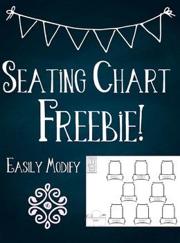 Seating Chart Freebie!