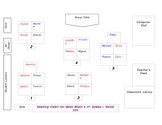 Seating Chart  Groups Template