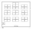 Seating Chart - Groups of 4