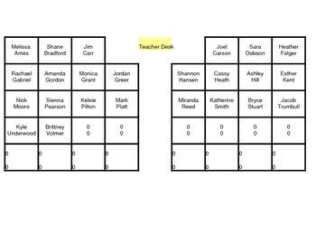 Seating Chart Randomizer