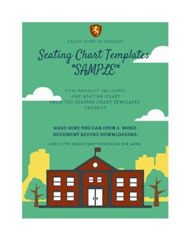 Seating Chart Template *SAMPLE*