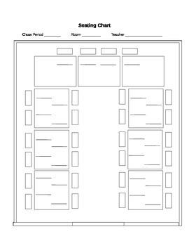 Seating Chart - U Shape Tables