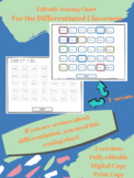 Seating Chart for Differentiation Planning