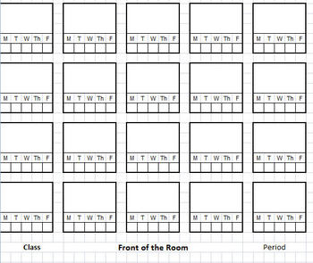 seating chart xcel