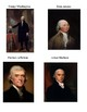 Seating Chart using Presidents and their favorite foods!