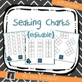 Seating Charts {editable} - Back to School