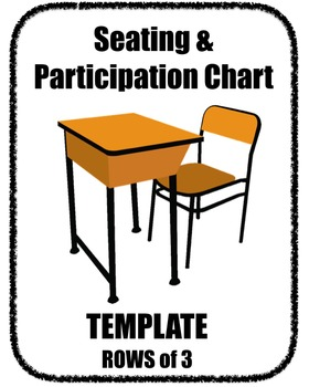 Seating Participation Attendance Chart