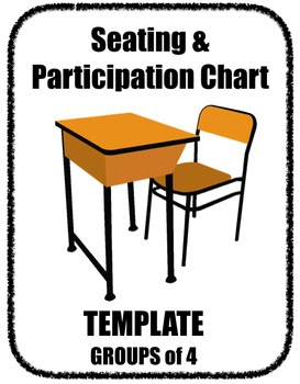 Seating Participation Attendance Chart Group of 4