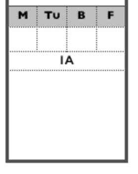 Seating Participation Attendance Chart - Rows of 4