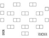 Seating Plan Template- EDITABLE
