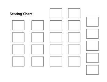Seating Template singles - customizable